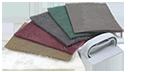 Абразивные материалы на волоконной основе
