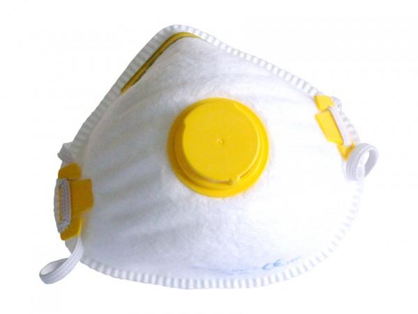 Маска от пыли с клапаном 2FK (желтая) by Нет