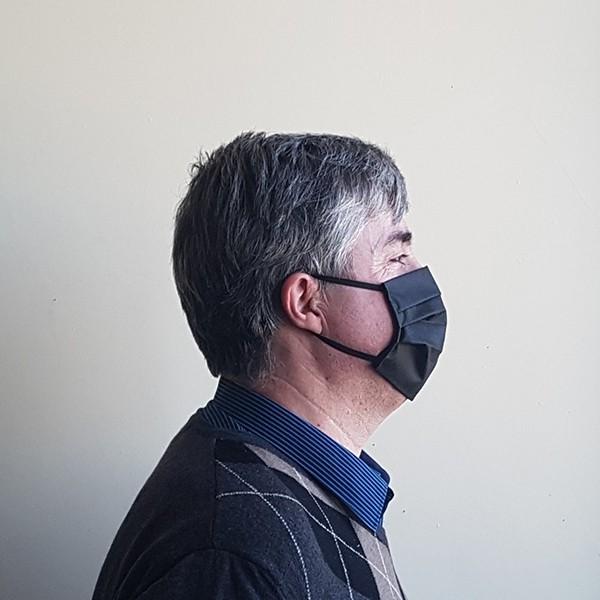 Захисна трьохшарова маска СР 001, чорна (упаковка - 10шт) by CP