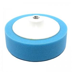Круг полировальный 150x50мм, синий, M14, полужесткий, на платформе