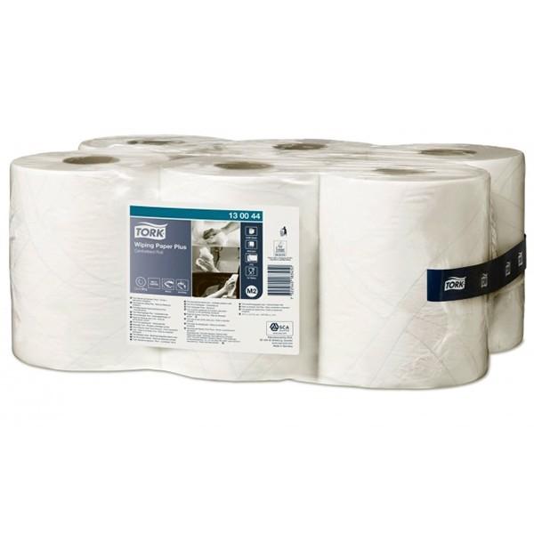 Салфетки Tork Advanced 420 Макси с центральной вытяжкой, 125м, 370 листов, 34*23,5 см, белая by Нет