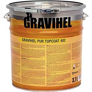 GRAVIHEL полиуретановая эмаль 402-002, полуматовая