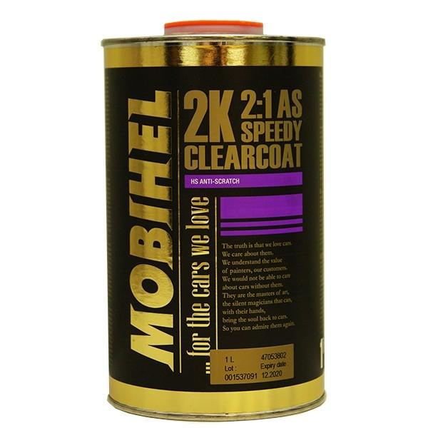 2K AS 2:1 акриловый лак (speedy) - быстросохн. Mobihel, 1,0л by Mobihel
