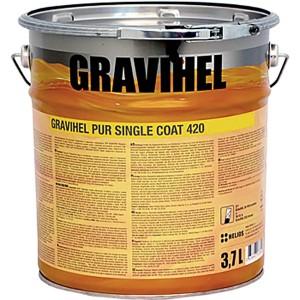 GRAVIHEL полиуретановая эмаль 420-013, полуглянцевая