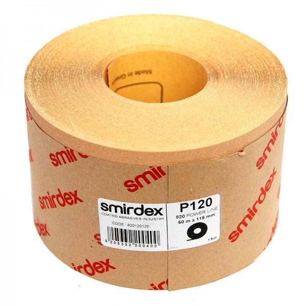 Наждачная бумага Smirdex 820 Power Line в рулонах 116ммх25м (50 м) by Smirdex