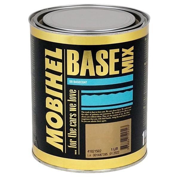 MOBIHEL база MIX 341, синий с эффектом металлика, 1 л by Mobihel color Нет