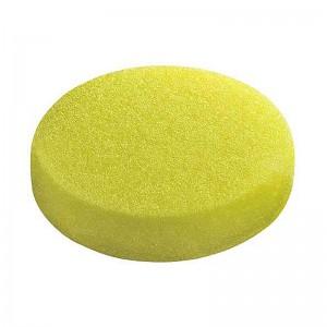 Круг полировальный 150x25мм, желтый, на липучке, полумягкий