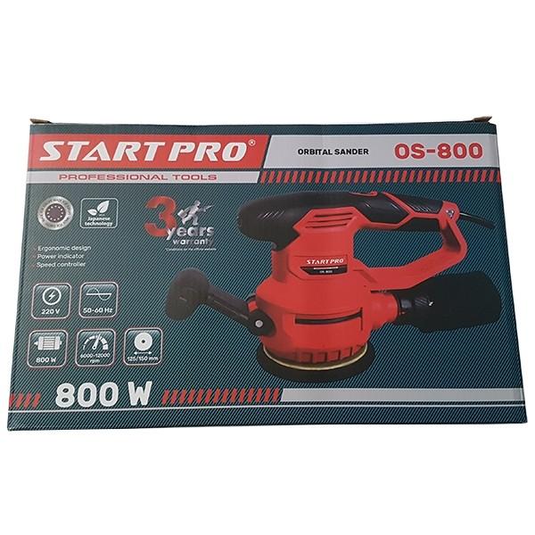 Шлифовальная машинка электрическая START PRO OS-800 орбитальная с пылесборником by Нет