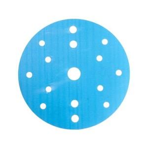 Абразивный круг SMIRDEX 830 Film Discs, D=150мм, 15 отверстий