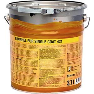 GRAVIHEL полиуретановая эмаль 421-012, полуматовая