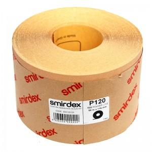 Наждачная бумага Smirdex 820 Power Line в рулонах 116ммх25м (50 м)