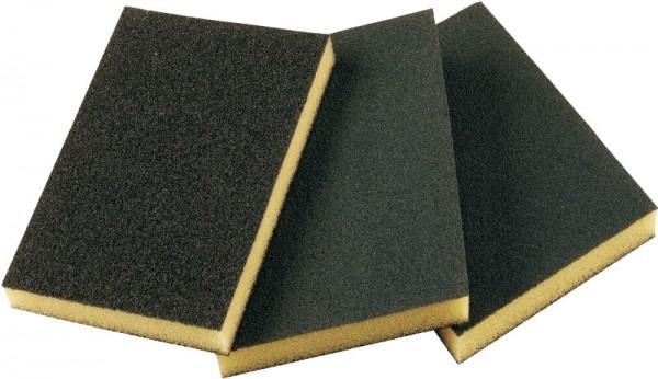 Абразивная губка 2-сторонняя SMIRDEX средняя, 120x90x10 мм by Smirdex