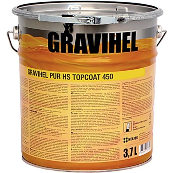 GRAVIHEL HS полиуретановая эмаль 450-001, глубоко матовая by Gravihel