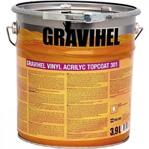 GRAVIHEL винил-акриловая эмаль 301-003, полуглянцевая