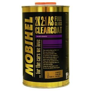 2K 2:1 бесцветный лак FG anti scratch Mobihel, 1,0л