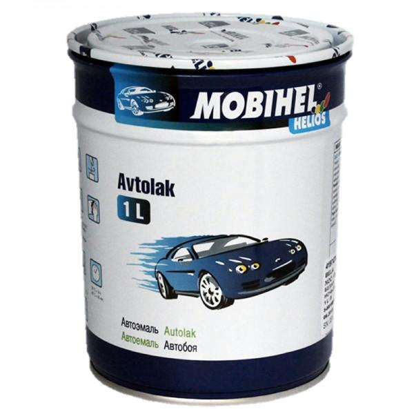 Автоэмаль алкидная 456 Темно-синяя Mobihel однокомпонентная 1,0л