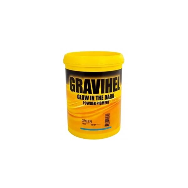 Люминесцентный пигмент GRAVIHEL Glow Green, 0,25 кг by Gravihel