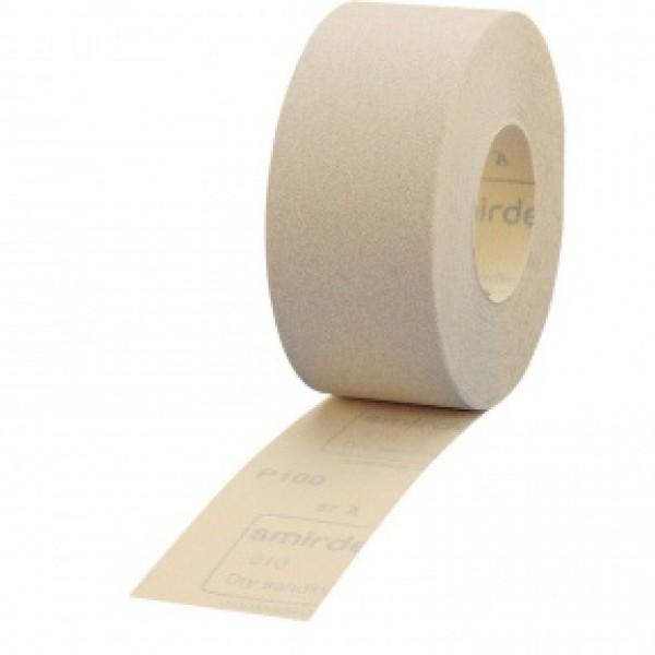 Наждачная бумага SMIRDEX Velour Рулон белый 71ммх25м , santing line 510 by Smirdex