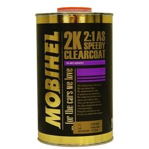 2K AS 2:1 акриловый лак (speedy) - быстросохн. Mobihel, 1,0л