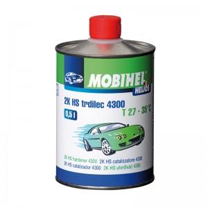Отвердитель быстрый 4300 - для HS и DH 2:1 акриловых лаков Mobihel, 0,5л