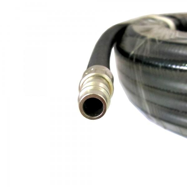 Шланг резиновый воздушный с быстроразъемными соединениями, 10x16.5мм, 15м