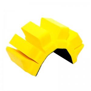 Платформа для ручной шлифовки с разрезами под полосу velcro