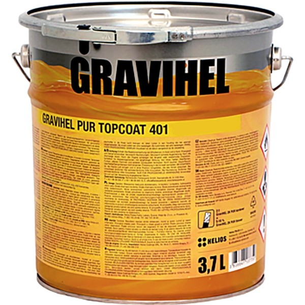 GRAVIHEL полиуретановая эмаль 401, высокоглянцевая by Gravihel