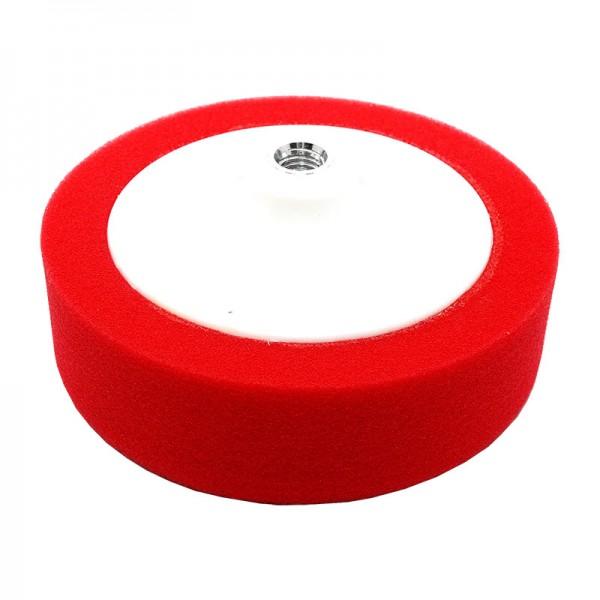 Круг полировальный 150x50мм, красный, M14, мягкий, на платформе