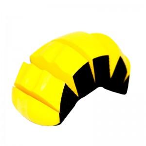 Платформа для ручной шлифовки овальная с разрезами