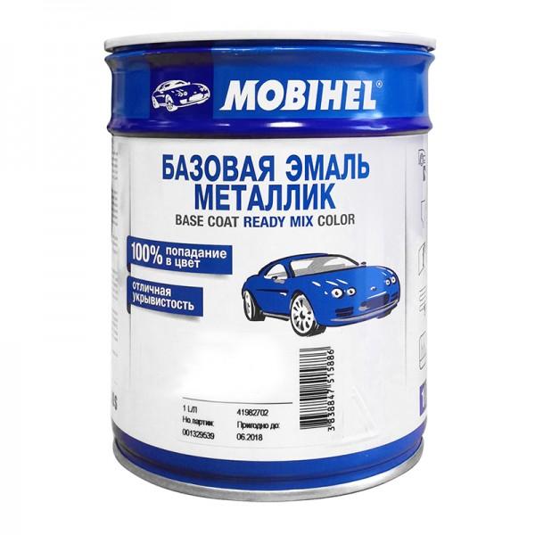 Автоэмаль металлик 385 Изумруд Mobihel 1,0л