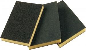 Абразивная губка 2-сторонняя SMIRDEX средняя, 120x90x10 мм
