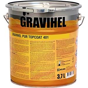 GRAVIHEL полиуретановая эмаль 401, высокоглянцевая