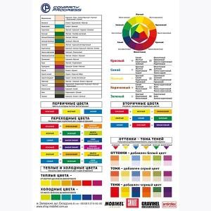 Колористическая таблица COMPANY PROGRESS