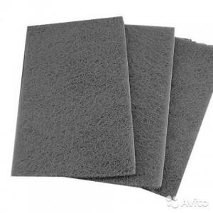Скотчбрайт SMIRDEX серый  Р600 лист 150х230