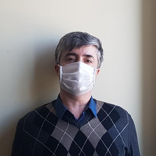 Захисна трьохшарова маска СР 001, біла (упаковка - 10шт) by CP