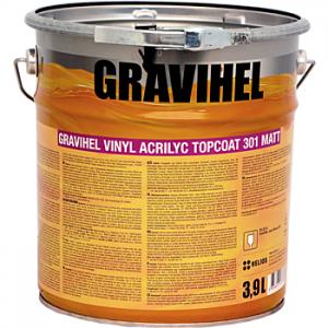 GRAVIHEL винил-акриловая эмаль 301-002, матовая